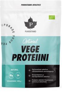 Puhdistamo Optimal Vegan Protein BIO veganský protein v BIO kvalitě příchuť natural