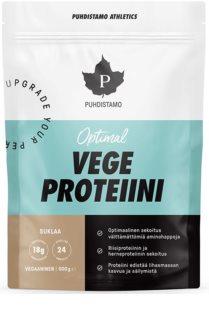 Puhdistamo Optimal Vegan Protein veganský protein v prášku příchuť chocolate