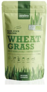 Purasana Wheat Grass Raw Juice Powder přírodní antioxidant