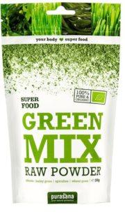 Purasana Green Mix Powder BIO přírodní antioxidant v BIO kvalitě