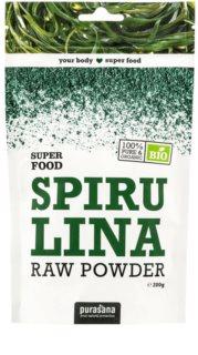Purasana Spirulina Powder BIO přírodní antioxidant v BIO kvalitě