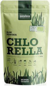 Purasana Chlorella Powder BIO přírodní antioxidant v BIO kvalitě