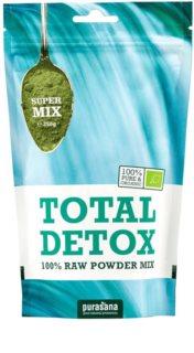 Purasana Total Detox Mix BIO prášek na přípravu nápoje s detoxikačním účinkem