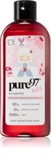 pure97 Kids Blumenfee Shampoo & Duschgel 2 in 1 für Kinder