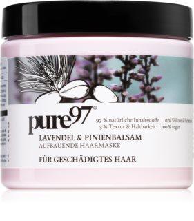 pure97 Lavendel & Pinienbalsam erneuernde Maske für geschädigtes Haar