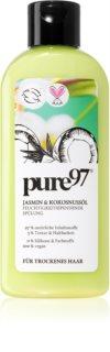 Pure 97 Jasmin & Kokosnussöl balsamo idratante per capelli secchi