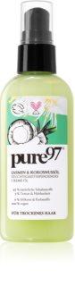 Pure 97 Jasmin & Kokosnussöl Nährende Hitzeschutz-Creme mit Öl