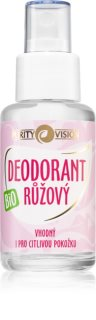 Purity Vision Rose Deodorant cu esenta de trandafir Spray