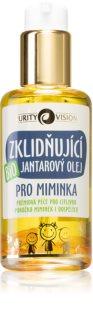 Purity Vision BIO ulei de chihlimbar pentru nou-nascuti si copii