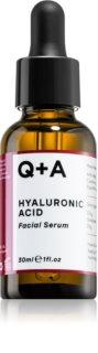 Q+A Hyaluronic Acid feuchtigkeitsspendendes Hautserum mit Hyaluronsäure
