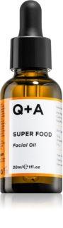 Q+A Super Food Antioxidant-Bodyöl für Tag und Nacht
