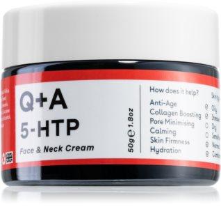 Q+A 5-HTP festigende Anti-Faltencreme für das Gesicht