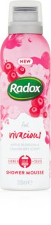 Radox Feel Vivacious Nourishing Shower Foam