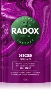 Radox Detoxed  sel de bain
