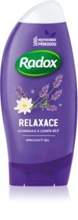 Radox Feel Relaxed Waterlily & Lavender entspannendes Duschgel