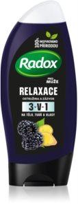 Radox Men Feel Wild Shower Gel And Shampoo 2 In 1