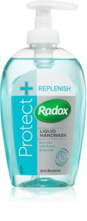Radox Protect + Replenish Flytande tvål Med antibakteriella ingredienser