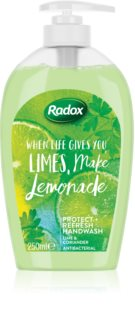 Radox When Life Gives You Limes, Make Lemonade течен сапун за ръце