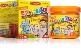 Terezia RAKYTNÍČEK  Džungle multivitamínové želatinové bonbony pro děti
