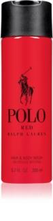Ralph Lauren Polo Red gel doccia per uomo