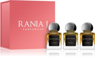 Rania J. Priveé Rubis Collection coffret II. unissexo