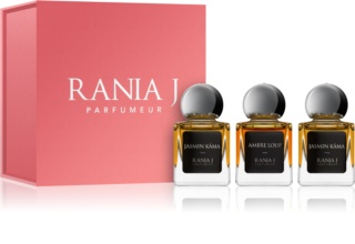 Rania J. Priveé Rubis Collection coffret unissexo