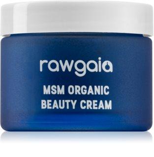 RawGaia MSM Organics vlažilna krema za suho kožo