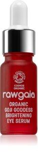 RawGaia Organic Goji Goddess posvetlitveni serum za predel okoli oči