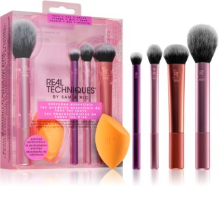 Real Techniques Everyday Essentials set di pennelli