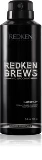 Redken Brews Hair Spray With Extra Strong Fixation