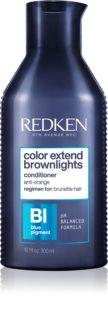 Redken Color Extend Brownlights balsam nuanțator neutralizarea subtonurilor de alamă