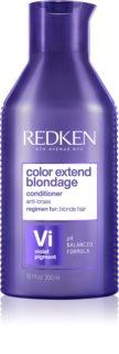 Redken Color Extend Blondage lila kondicionáló semlegesíti a sárgás tónusokat