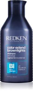 Redken Color Extend Brownlights șampon nuanțator neutralizarea subtonurilor de alamă