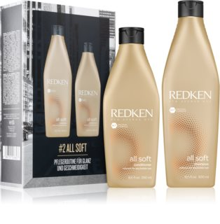 Redken All Soft Gift Set (For Dry And Brittle Hair)