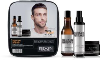Redken Brews darčeková sada I. (pre jemné vlasy) pre mužov