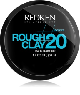 Redken Texturize Rough Clay 20 Matte Paste For Flexible Hold