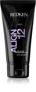 Redken Straight Lissage Align 12 balzam za zaglađivanje za kosu isrpljenu toplinskim oblikovanjem