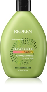 Redken Curvaceous Creamy Shampoo For Wavy Hair And Permanent Waves