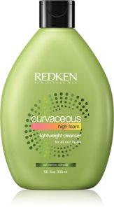 Redken Curvaceous kremasti šampon za kovrčavu i kosu s trajnom ondulacijom