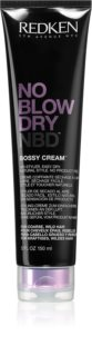 Redken No Blow Dry Styling Cream for Coarse and Stubborn Hair with a Quick-Drying Effect