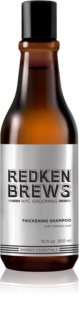 Redken Brews Thickening Shampoo for Fine Hair