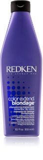 Redken Color Extend Blondage Neutraliserande schampo med mässingstoner