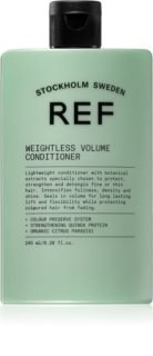 REF Weightless Volume Conditioner for Fine and Limp Hair for Volume from Roots