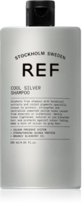 REF Cool Silver Silver Shampoo for Yellow Tones Neutralization