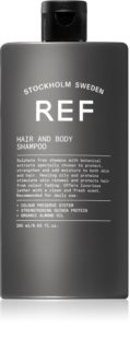 REF Hair & Body shampoo e doccia gel 2 in 1