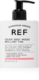 REF Colour Boost Masque mascarilla nutritiva suave sin pigmentos de color permanentes