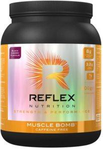 Reflex Nutrition Muscle Bomb Caffeine Free podpora sportovního výkonu bez kofeinu příchuť cherry