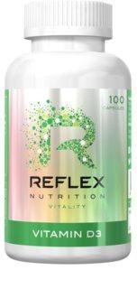 Reflex Nutrition Vitamin D3 podpora normálního stavu kostí a zubů