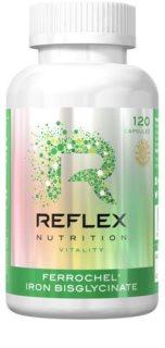 Reflex Nutrition Ferrochel Iron Bisglycinate snížení míry únavy a vyčerpání
