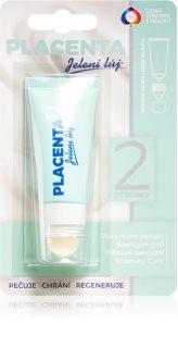 Regina Placenta поживний бальзам для губ та шкіри навколо губ 2 в 1